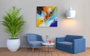 Apogée dans votre salle d'attente. Il décorera aussi parfaitement vos salon et chambre - 80 x 80 cm