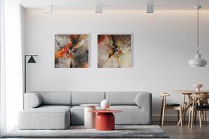 Duo Découverte et Mirage pour sublimer votre intérieur - 70 x 70 cm