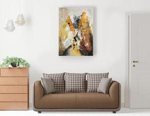 Inflexion dans votre petit salon - Son format 92 x 65 cm en fait l'œuvre idéale pour les petits espaces