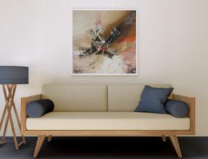 Amalgame dans votre salon - 70 x 70 cm