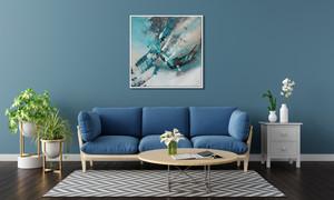 Alaska dans votre salon - 80 x 80 cm