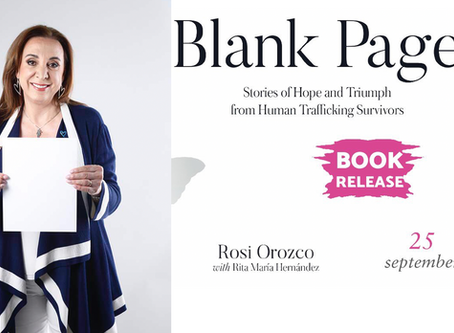 Devout Christian Leading Activist Against Human Trafficking Presents her new Book in D.C.