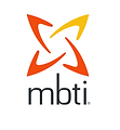 The Myers Briggs personality test logo. MBTI.