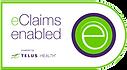 The logo for Telus eClaims