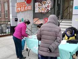 3/7 PCR Volunteers deliver food during COVID-19
