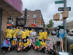 PCR Cleanup streets to protect the environment / PCR义工清理街道,保护环境卫生