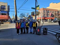 3/8 PCR义工扫街提倡整洁卫生