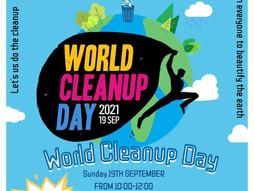 P C R World Cleanup Day / P C R 世界清洁日