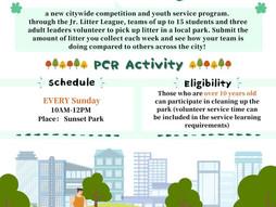 PCR Junior Litter League Program / PCR 少年垃圾联盟计划