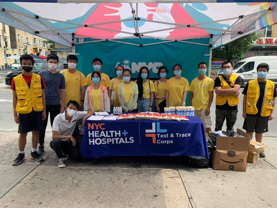 Covid-19 Vaccination Outreach Event 8Ave