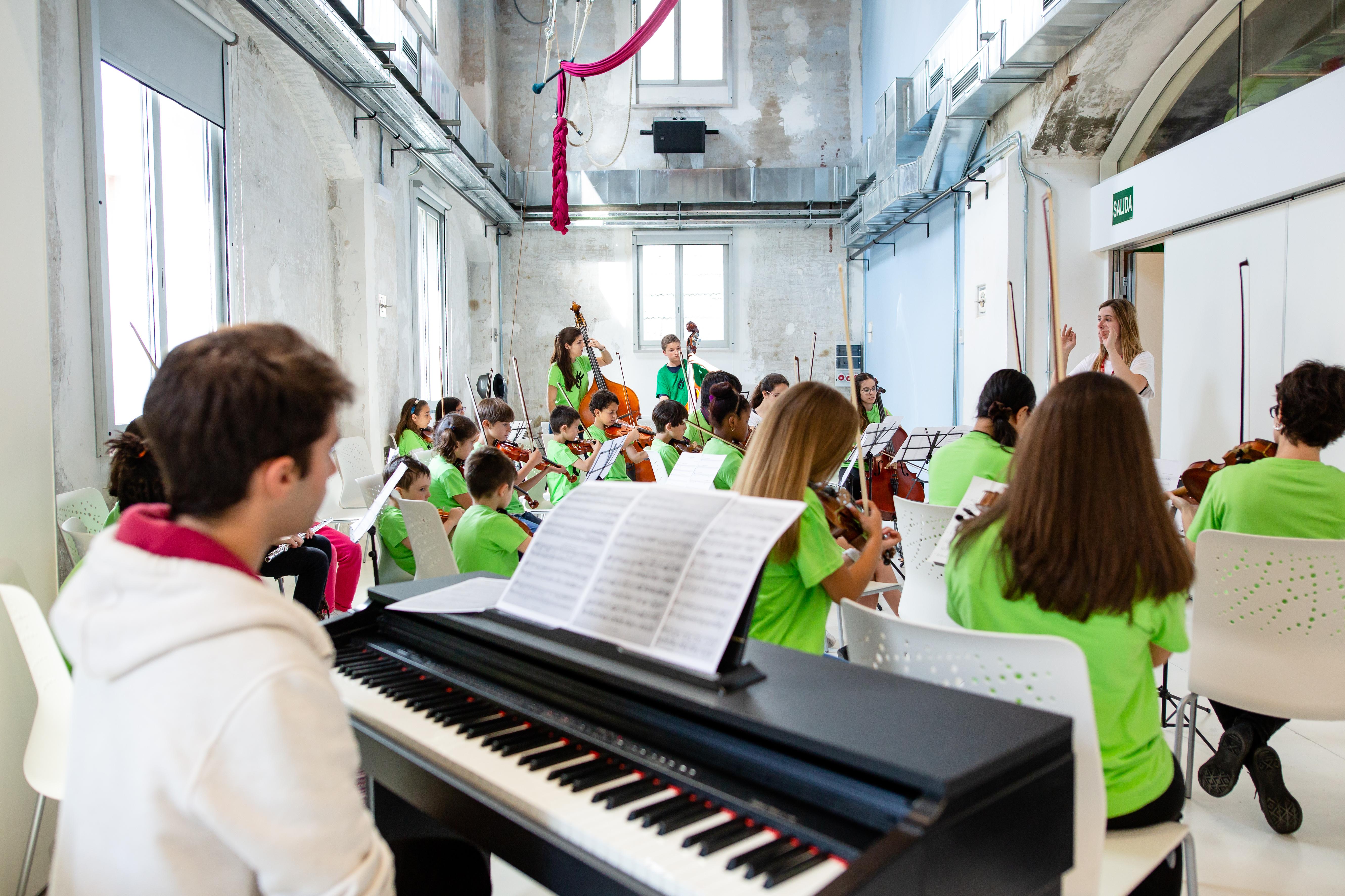 Orquesta Escuela | Ensayos