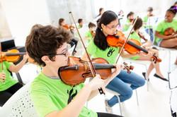Orquesta Escuela, música comunitaria