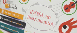 Dona un instrumento, Zaragoza