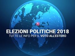 Elezioni politiche 2018 - Elettori temporaneamente all'estero: modalità per l'opzione.
