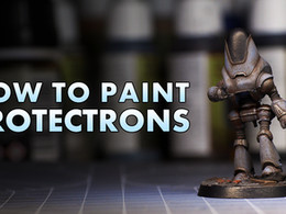How to paint Protectrons from Fallout Wasteland Warfare