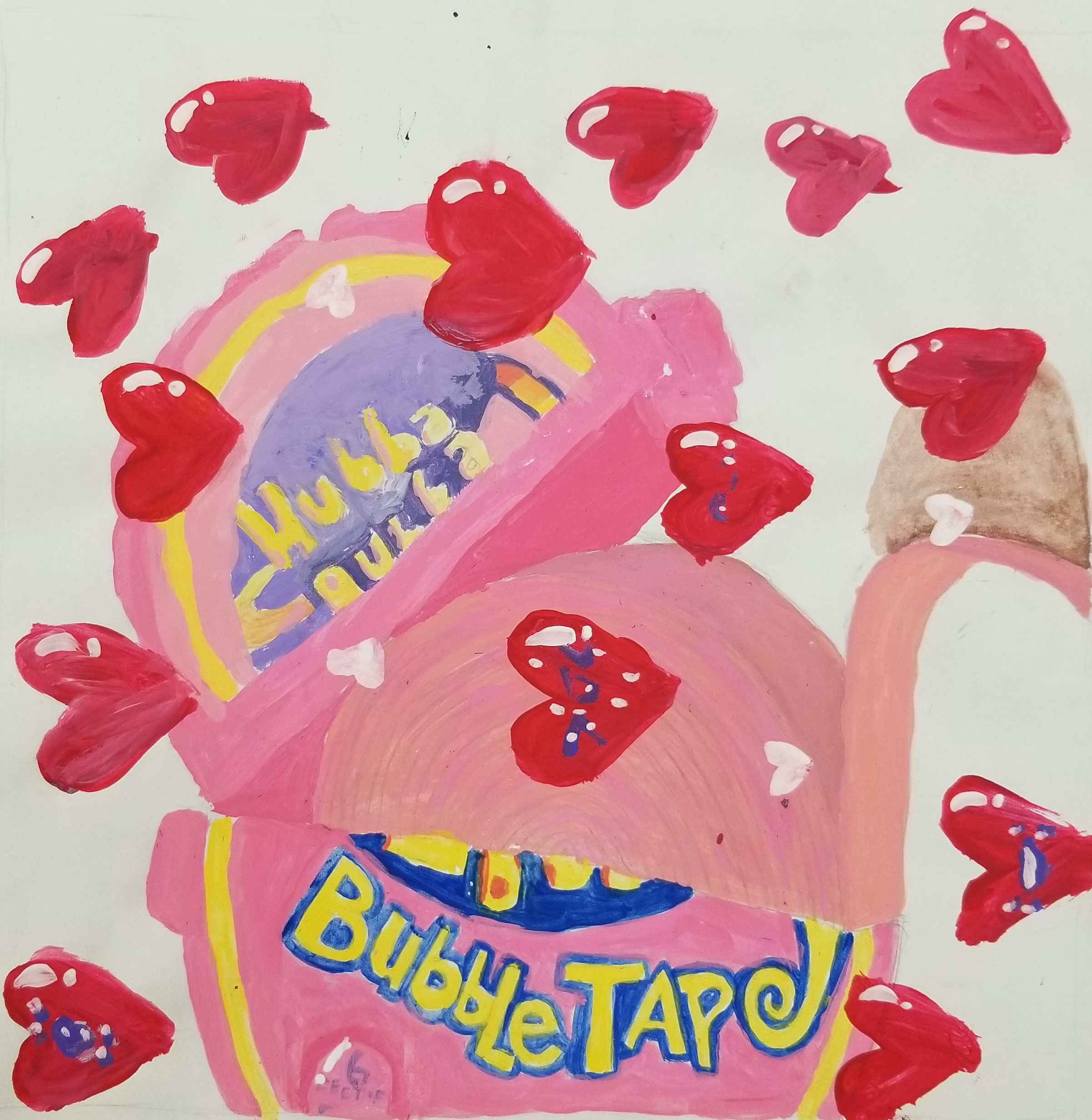 6th pop art candy painting