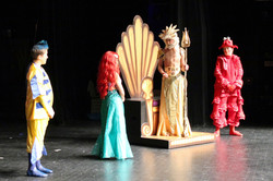 Flounder, Ariel, Triton, Sebastian