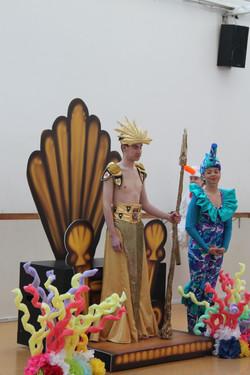 King Triton & Seahorse in Rehearsal