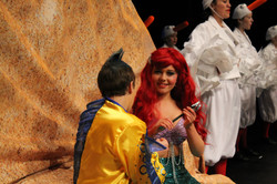 Flounder and Ariel