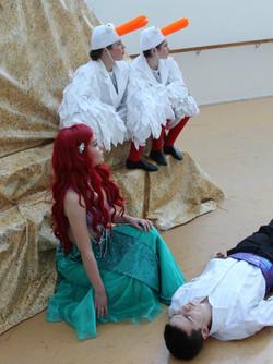 Ariel, Eric, Seagulls in Rehearsal