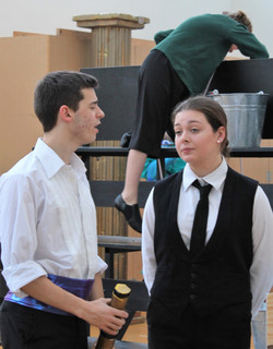 Prince Eric and Grimsby in Rehearsal