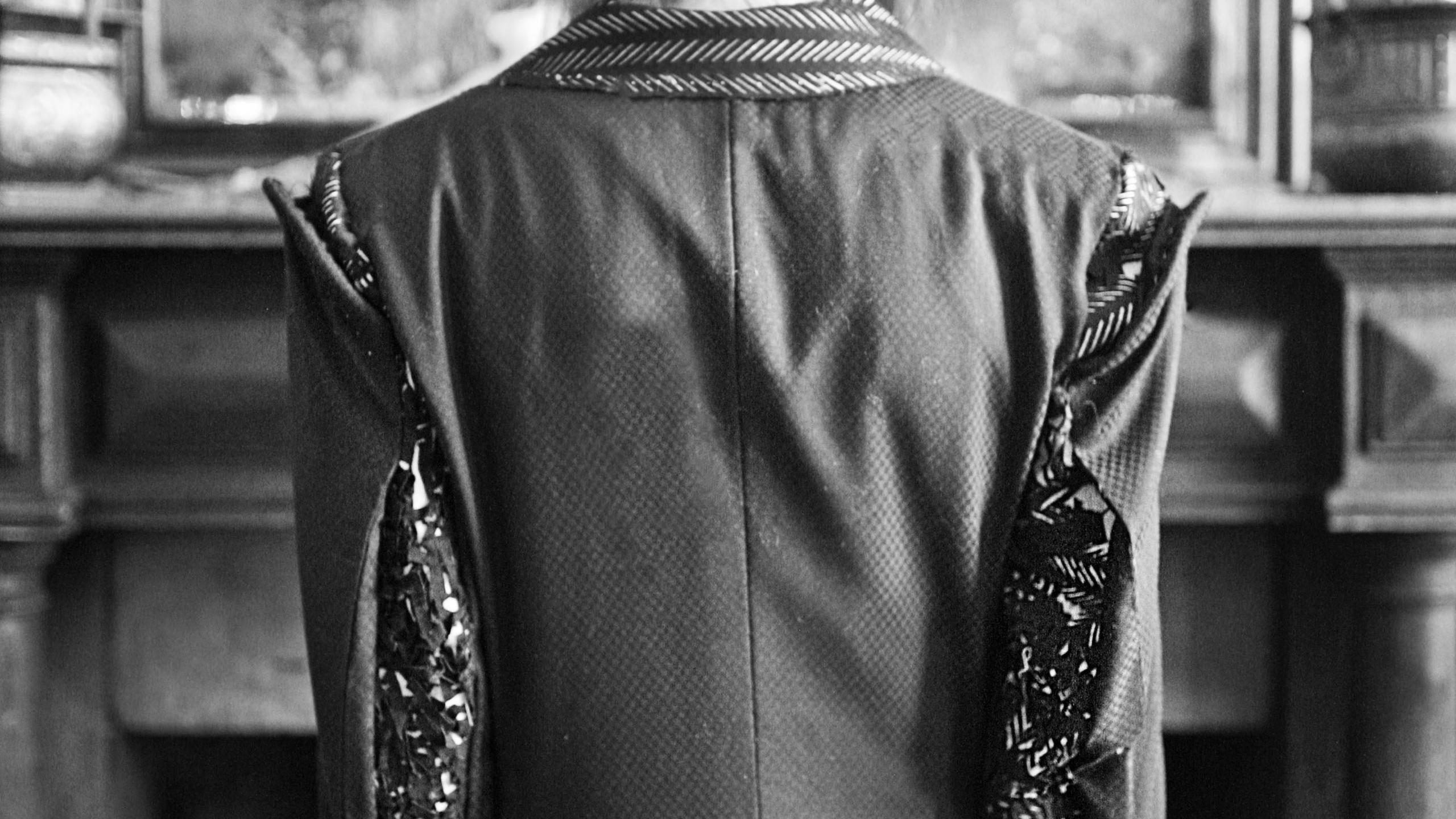 'The Seeker' coat.