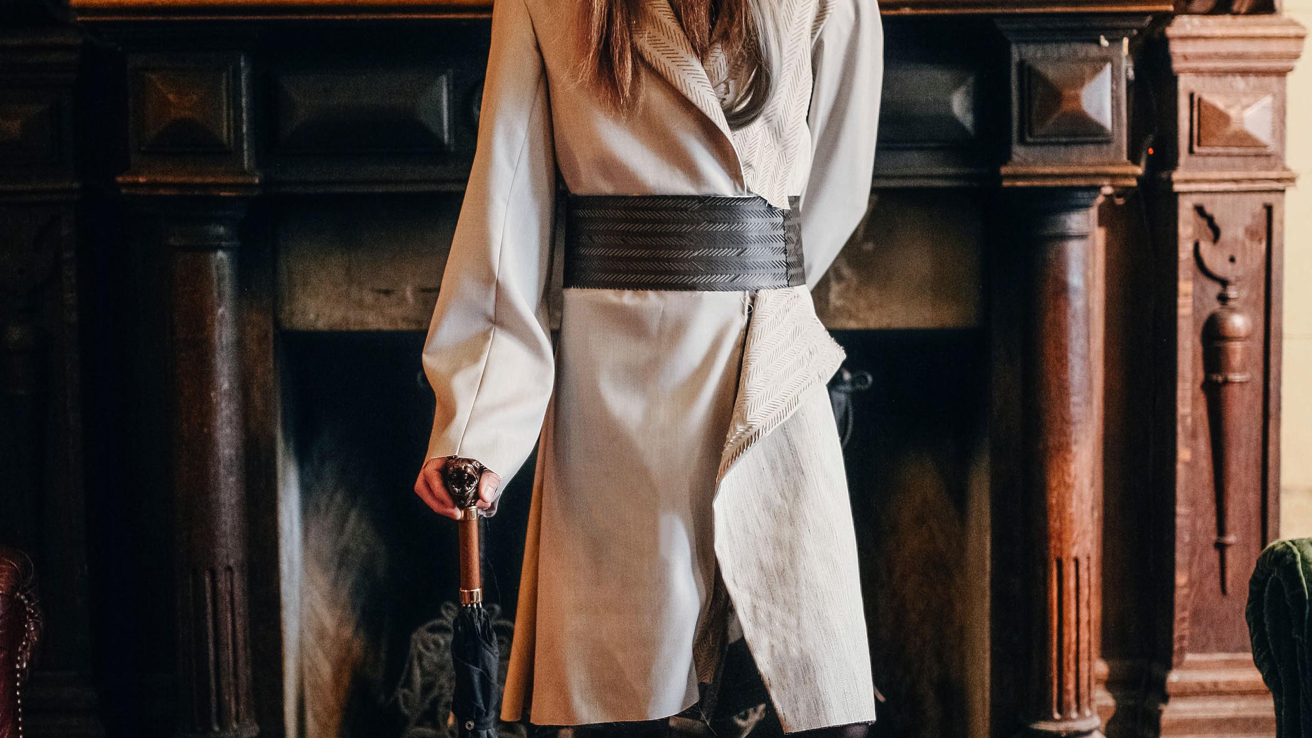'The Renunciant' coat.