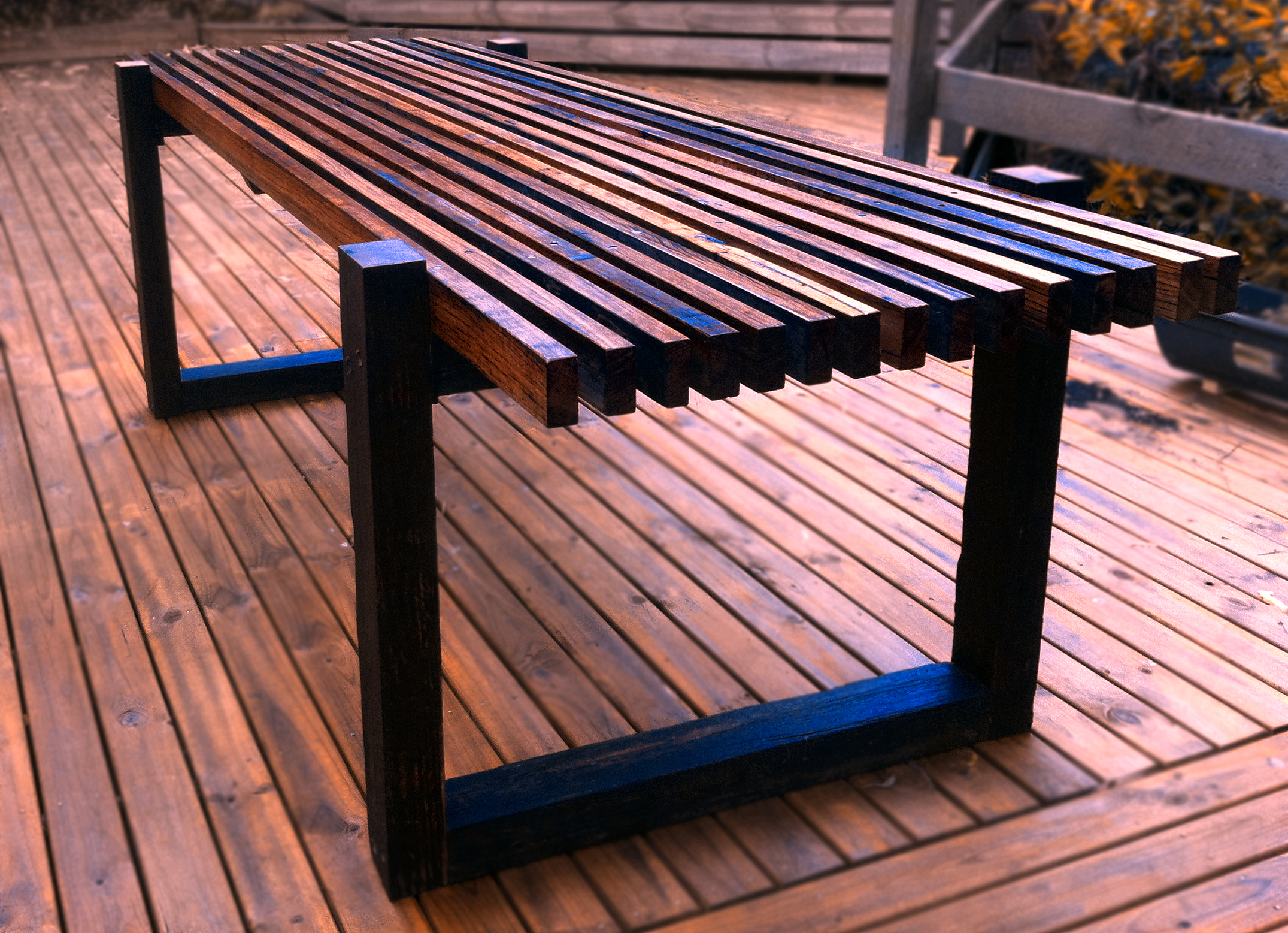 Deck table