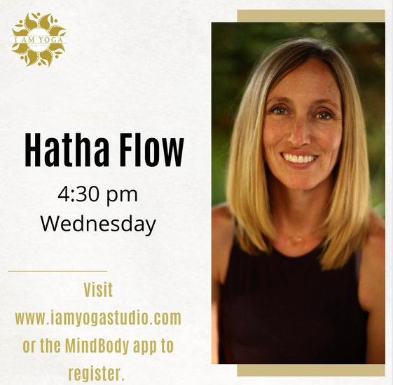 Hatha Flow Wednesday's 4:30pm