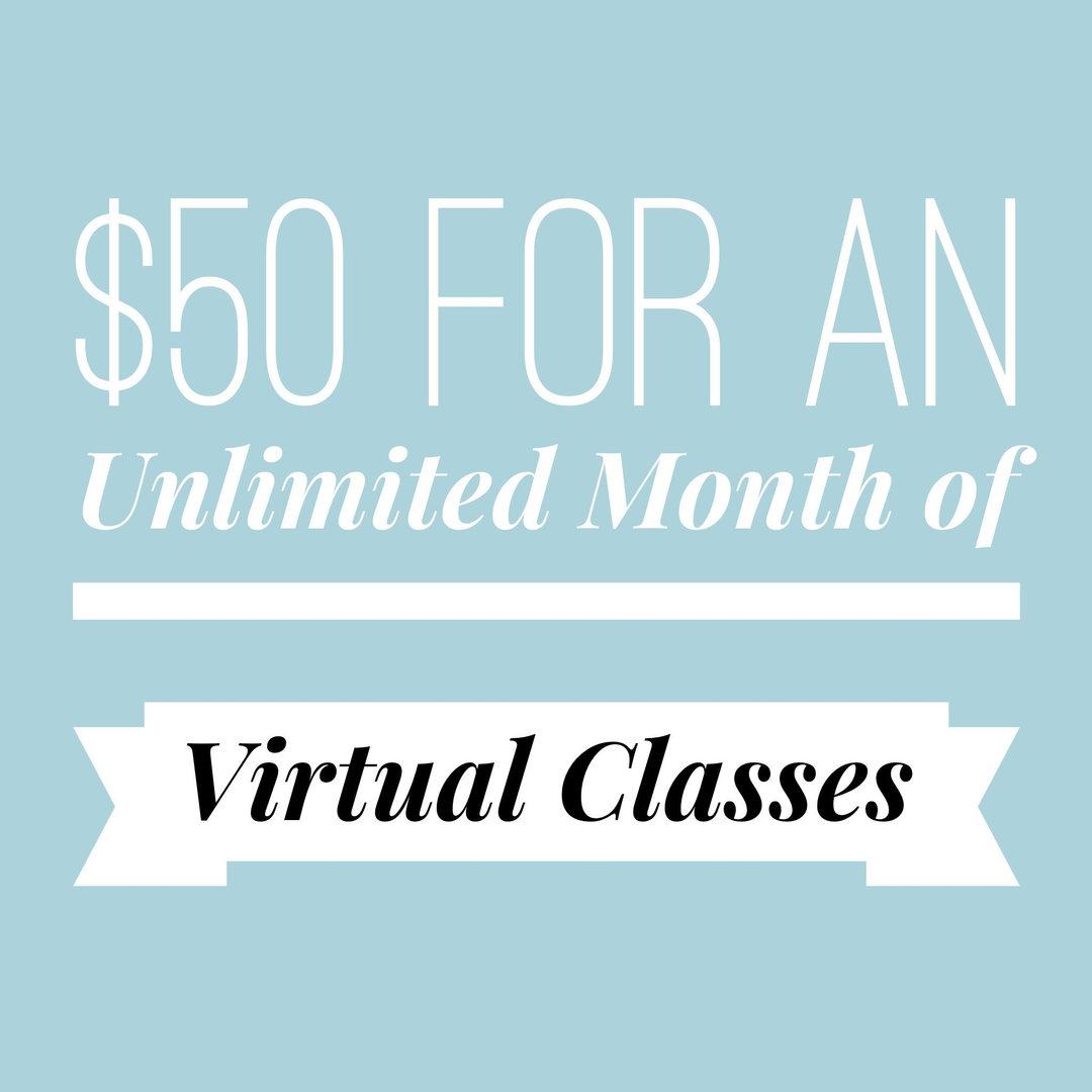 UNLIMITED VIRTUAL CLASSES
