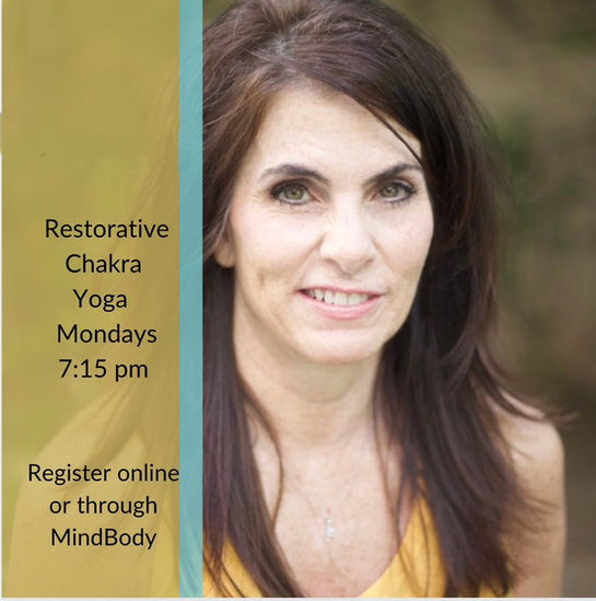 Restorative Chakra Monday's  7:15pm