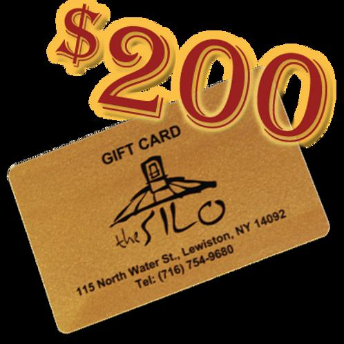 $200 Silo Gift Card