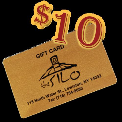 $10 Silo Gift Card