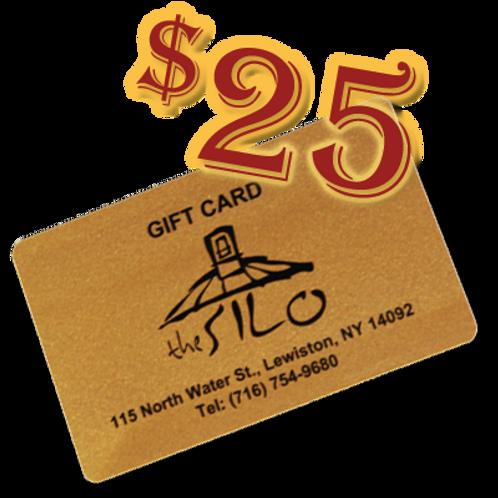 $25 Silo Gift Card