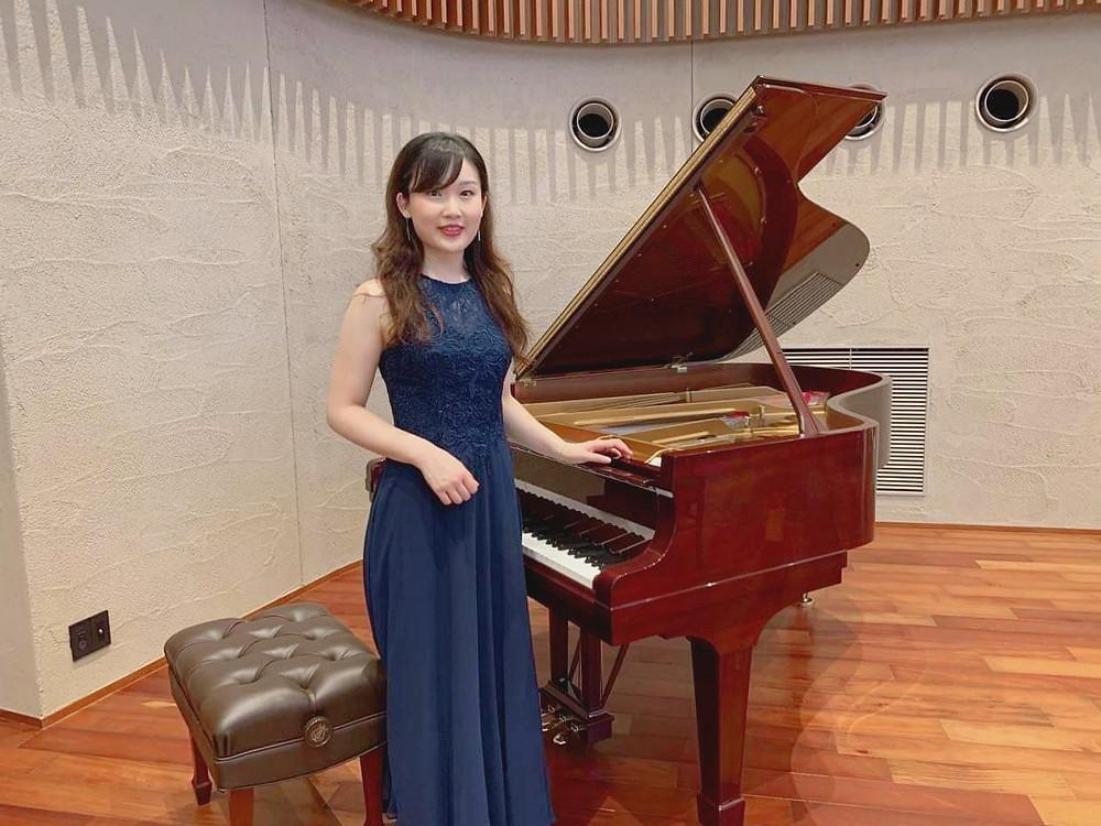 saki nishioka, パリ音楽院, ピアノ