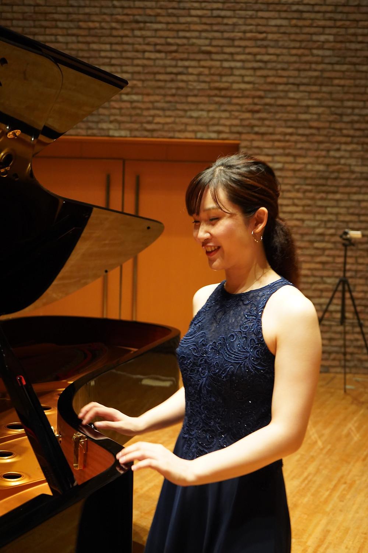 西岡沙樹 saki nishioka 奈良 ピアニスト
