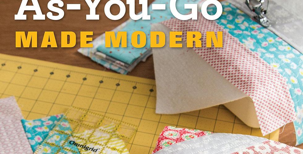 Quilt As-You-Go Made Modern - Jera Brandvig