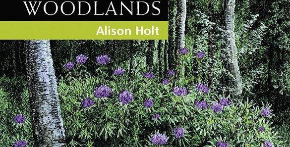 Machine Embroidered Woodlands - Alison Holt