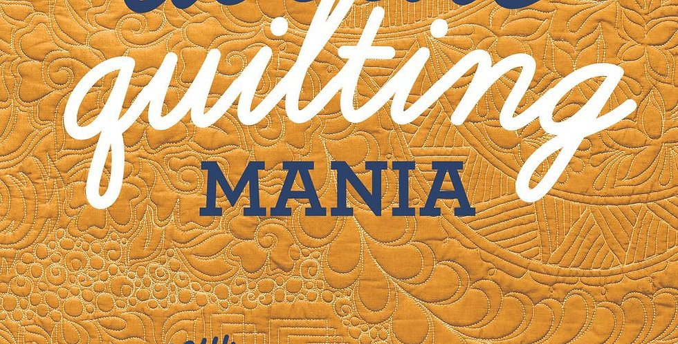Doodle Quilting Mania - Cheryl Malkowski
