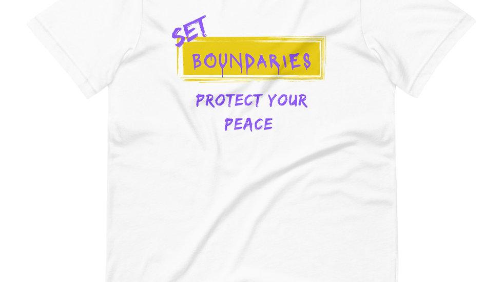 Set Boundaries - White/Purple/Golc