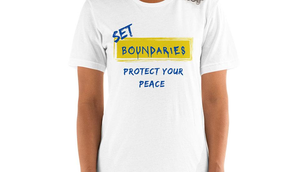 Set Boundaries- White/Royal/Yellow