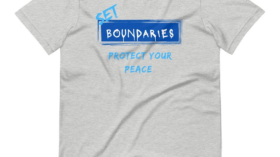 Set Boundaries - Gray/Royal/Light Blue