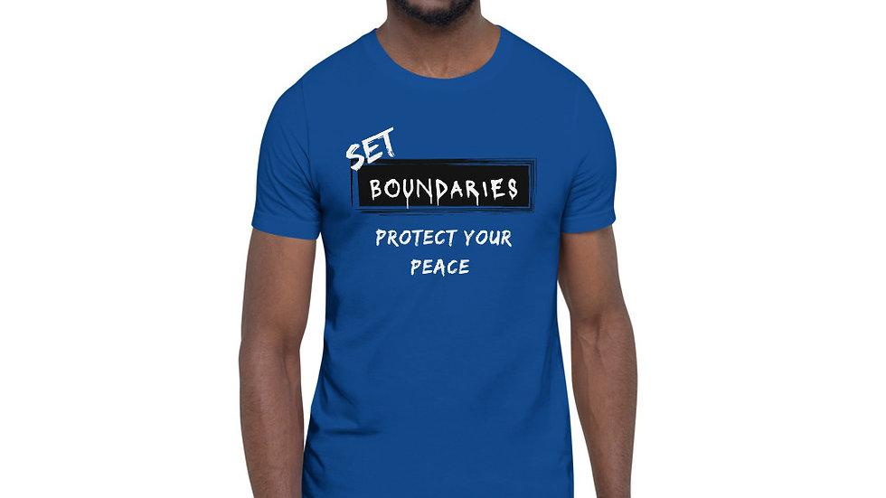 Set Boundaries - Royal/White/Black