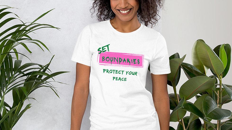 Set Boundaries - White/Pink/Green