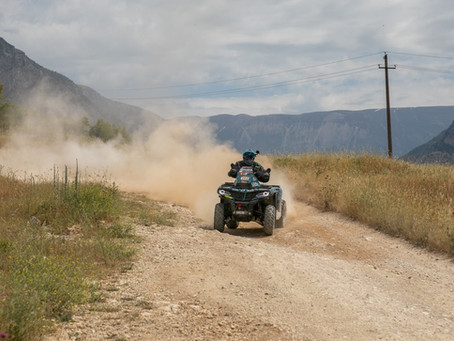 Lithuanians started the marathon stage of Rally Albania in reduced team