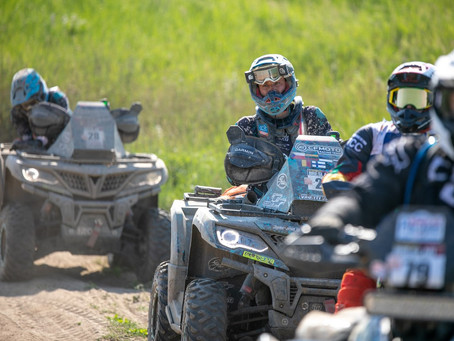 On the first day of the Breslau Rally, the CFMOTO Racing Team solved the navigational challenges
