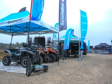 CFMOTO Factory Racing Team Successfully finished Enduro Rally stage 3 Pabrade""