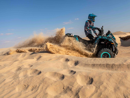 Fenix Rally started with burning ATVs, but the CFMOTO Racing Team duo avoided problems