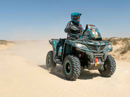 Speed fiesta in the Sahara continues: CFMOTO Racing Team pushes to the limit