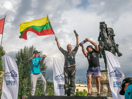 The CFMOTO Factory Racing Team  reached the finish line of Rally Albania and stepped on the podium